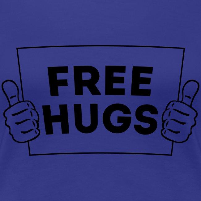 Free Hugs! Daumen Hoch/Like Schild 1C