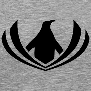 Penguin logo hipster swag sailor T-Shirts - Men's Premium T-Shirt