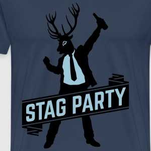 Stag Party / Bachelor Party (2C) T-Shirts - Men's Premium T-Shirt