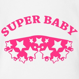 Super Baby Shirts - Organic Short-sleeved Baby Bodysuit