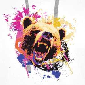 Bear Design Hoodies & Sweatshirts - Men's Premium Hoodie