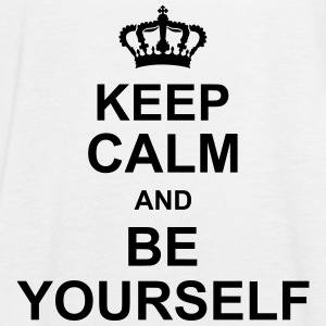 keep_calm_and_be_yourself_g1 Tops - Women's Tank Top by Bella