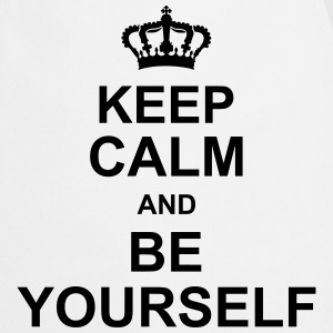 keep_calm_and_be_yourself_g1 Tabliers - Tablier de cuisine