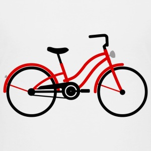 Damenfahrrad rot T-Shirts - Teenager Premium T-Shirt