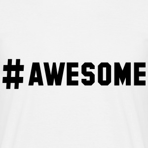 # awesome T-Shirts - Männer T-Shirt