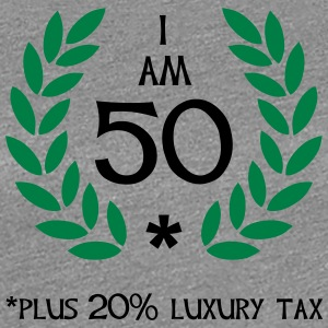 60 - 50 plus tax T-shirts - Dame premium T-shirt