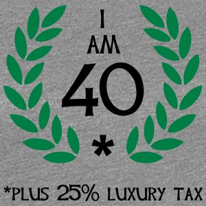50 - 40 plus tax T-Shirts - Frauen Premium T-Shirt