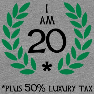 30 - 20 plus tax T-Shirts - Women's Premium T-Shirt