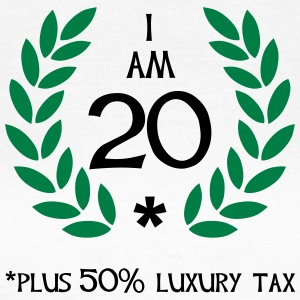 30 - 20 plus tax T-shirts - Dame-T-shirt