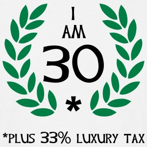 40 - 30 plus tax T-shirts - T-shirt herr