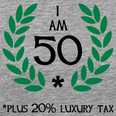 60 - 50 plus tax T-Shirts