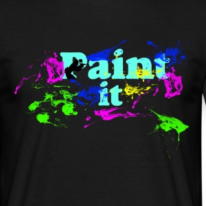 Paintball-Paint It - Männer T-Shirt