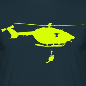 helicoptere dragon Tee shirts - T-shirt Homme