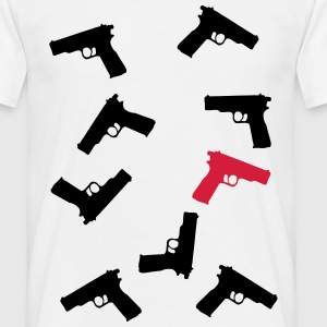 pistolet Tee shirts - T-shirt Homme