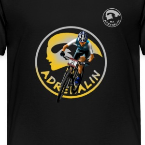 mountainbike Mr Adrenalin Shirts - Teenage Premium T-Shirt