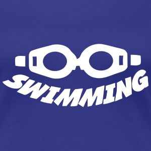 Swimming T-Shirts - Frauen Premium T-Shirt