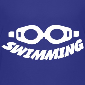 Swimming T-shirts - Børne premium T-shirt