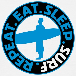 Eat. Sleep. Surf. Repeat. T-Shirts - Men's T-Shirt
