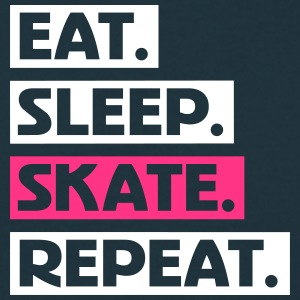 Eat. Sleep. Skate. Repeat. txt T-Shirts - Männer T-Shirt