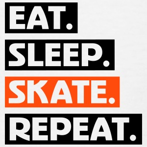 Eat. Sleep. Skate. Repeat. txt Shirts - Kids' T-Shirt