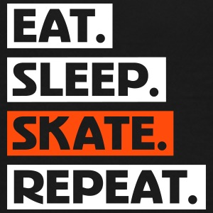 Eat. Sleep. Skate. Repeat. txt T-Shirts - Teenager Premium T-Shirt