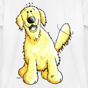 Funny Golden Retriever - Dog Shirts - Teenage T-shirt