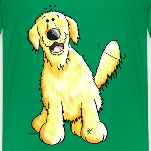 Morsom Golden Retriever - Hund - Hunder Skjorter - Premium T-skjorte for barn