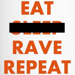 EAT - RAVE REPEAT Flaschen & Tassen - Thermobecher