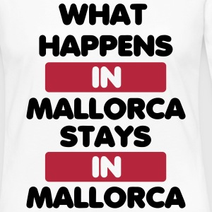 What Happens in Mallorca Stays in Mallorca Langarmshirts - Frauen Premium Langarmshirt
