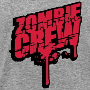 Zombie crew blood drop undead T-Shirts - Men's Premium T-Shirt