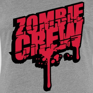 Zombie crew blood drop undead T-Shirts - Women's Premium T-Shirt