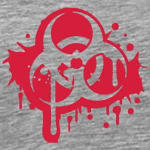 Biohazard logo symbol splashes of blood T-Shirts - Men's Premium T-Shirt