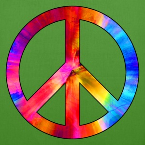 peace symbol 01 Bags & Backpacks - EarthPositive Tote Bag