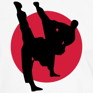 Martial arts, Karate, Kick Boxing, Judo, Taekwondo T-Shirts - Men's Ringer Shirt