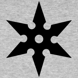 Shuriken Throwing Star, Ninja, Japan, Martial Arts T-Shirts - Men's Organic T-shirt