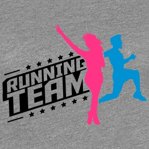 Running Team man women's group T-Shirts - Women's Premium T-Shirt