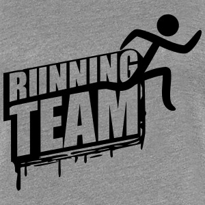 Running Team Läufer Gruppe Crew Graffiti T-Shirts - Frauen Premium T-Shirt