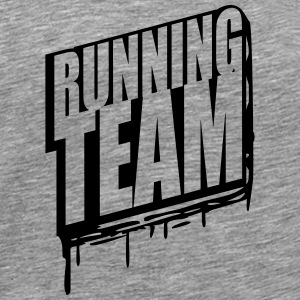 Running team group crew runner graffiti T-Shirts - Men's Premium T-Shirt