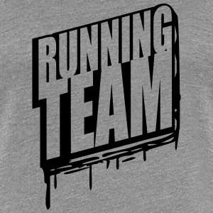 Running Team Gruppe Crew Läufer Graffiti T-Shirts - Frauen Premium T-Shirt