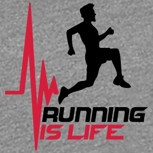 Running is life pulse heart rate frequency T-Shirts - Women's Premium T-Shirt
