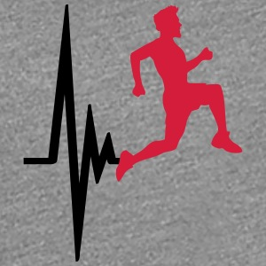 Pulse racing heartbeat frequency man T-Shirts - Women's Premium T-Shirt