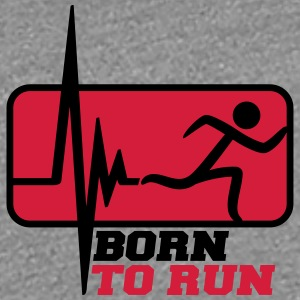 Frequency pulse heart rate born to run T-Shirts - Women's Premium T-Shirt