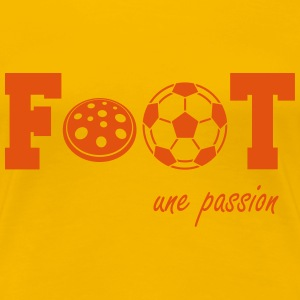 Foot une passion Tee shirts - T-shirt Premium Femme