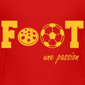 Foot une passion Tee shirts - T-shirt Premium Ado