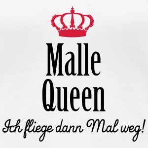 Malle Queen (ext., 2c) T-Shirts - Frauen Premium T-Shirt