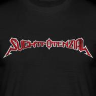 Motiv ~ T-Shirt Logo Suchtpotenzial