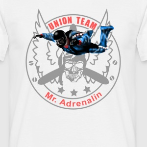 Union Team Mr. Adrenalin Skydive T-shirts - Herre-T-shirt