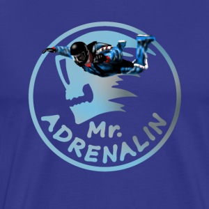 Mr  Adrenalin Skydive T-shirts - Mannen Premium T-shirt