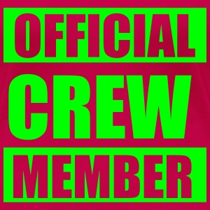 Official crew member T-Shirts - Frauen Premium T-Shirt