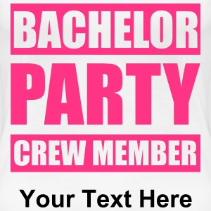 Bachelor Party Crew T-shirts - Vrouwen Premium T-shirt